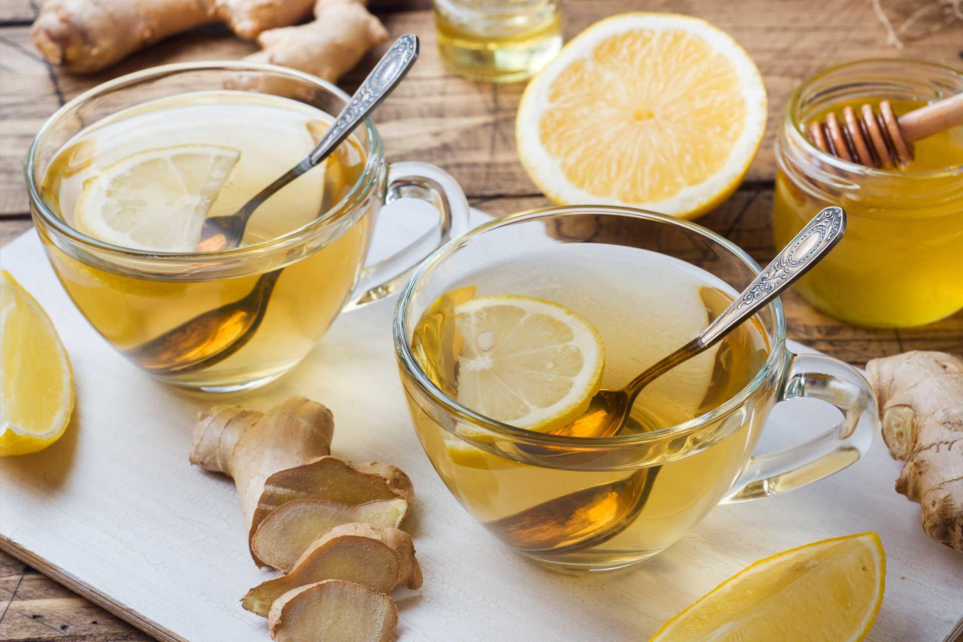 Gesunde Selbstgemachte Ingwer-Tee Rezepte