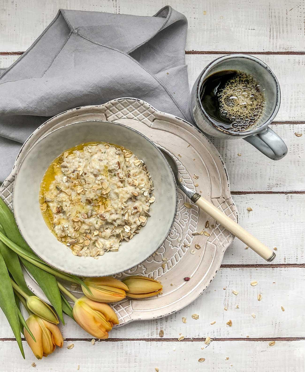 Haferflocken-Porridge – das perfekte warme Frühstück 3
